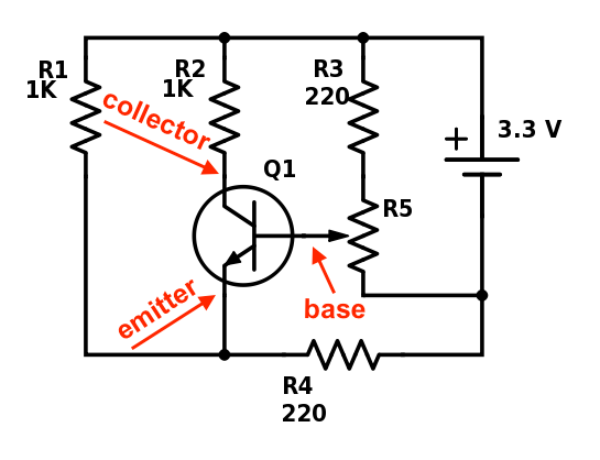 experimenting with digipots and adcstransistor and potentiometer test circuit diagram taps